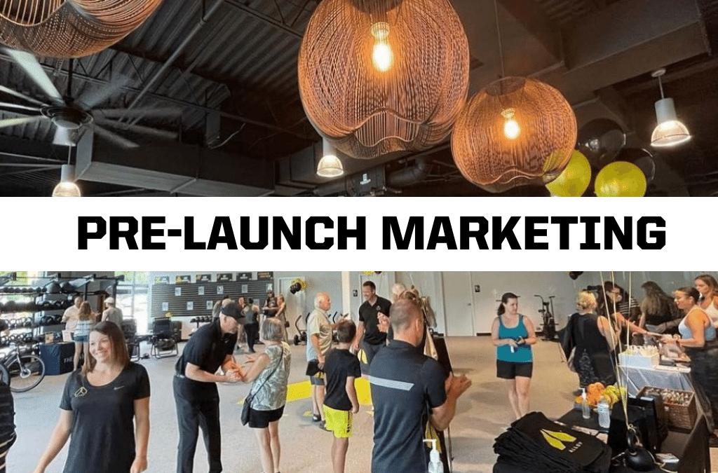 pre-launch marketing